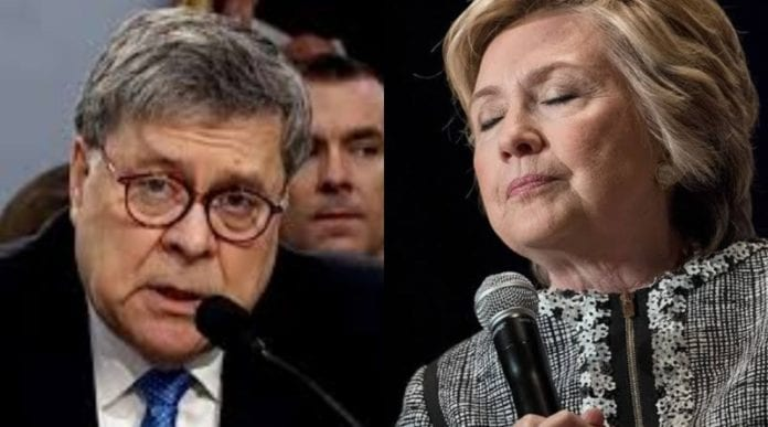 Barr indicted 8 people for illegal donations to multiple democrat organizations includes clinton